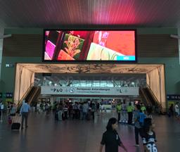 P7.62马来西亚飞机场LED龙8国际娱乐网页版